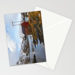 The Red Shed Panorama Stationery Cards