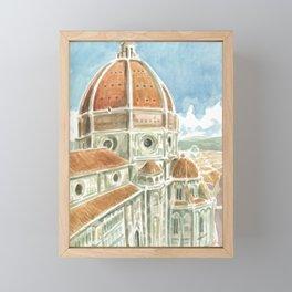 Duomo Framed Mini Art Print