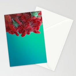 Red Blood Cells Stationery Cards