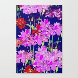 Oriental Bloom Canvas Print