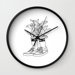 Where have all the flowers gone? Wall Clock