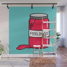 Feelings in a Jar Wall Mural