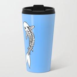Koi Yin-Yang (V1) Travel Mug