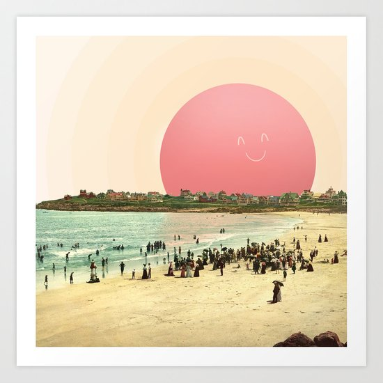 Proud Summer Sun Art Print