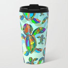 Baby Sea Turtle Fabric Toy Travel Mug
