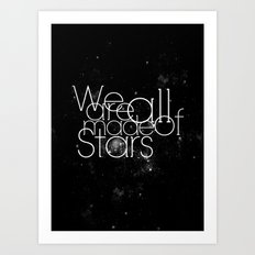 We, All. Art Print