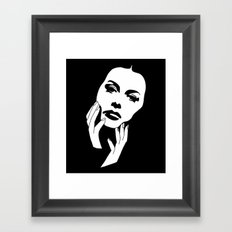 hedy Framed Art Print