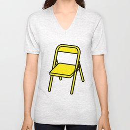 Yellow chair Unisex V-Neck