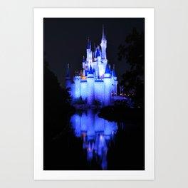Cinderella's Castle III Art Print