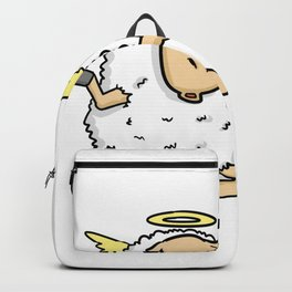 grill barbeque sheep Backpack