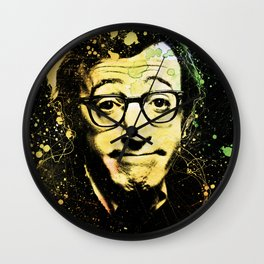 Woody Allen Splashes Wall Clock