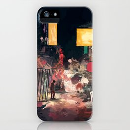 The Closing Hours iPhone Case