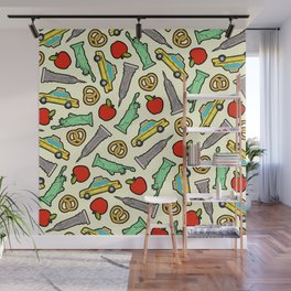 New York, New York Pattern Wall Mural