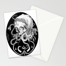 Witch Skull Stationery Cards