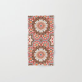 N64 - Traditional Geometric Moroccan Vintage Style Artwork Hand & Bath Towel