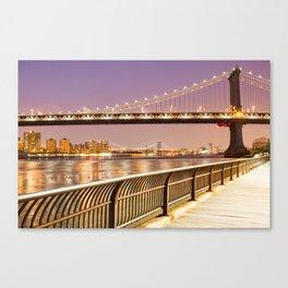 New York City Nights Canvas Print