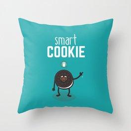 Smart Cookie Cute Throw Pillow