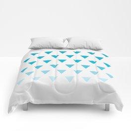 Triangles Comforters