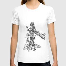 jasmina black and white T-shirt