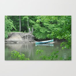 what a nice day Canvas Print