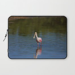 Roseate Spoonbill at Ding I Laptop Sleeve