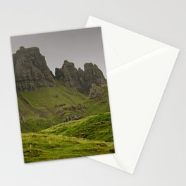 impressions of scotland - quiraing IV Stationery Cards