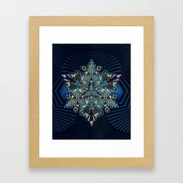 TRIHEXATOP Framed Art Print