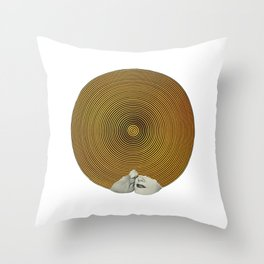 E Lips Throw Pillow