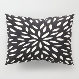 White Floret Pillow Sham