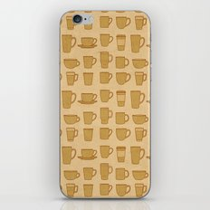 Coffee stained iPhone & iPod Skin