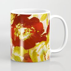floral in red Coffee Mug