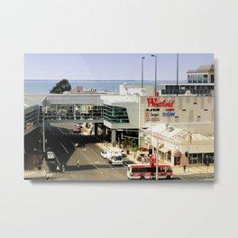 Shop by the Bay Metal Print