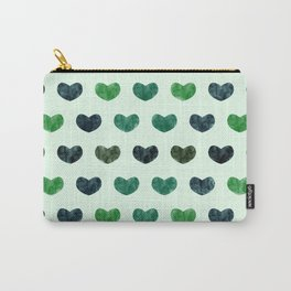 Cute Hearts VI Carry-All Pouch