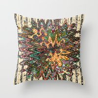 country Throw Pillows featuring country by Ingrid Padilla