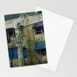 Old Spanish Style House Stationery Cards