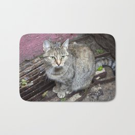 TIGERCAT of BERLIN Bath Mat