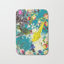 Tropical birds in the nature - 010 Bath Mat