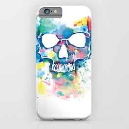 Color Skull iPhone Case