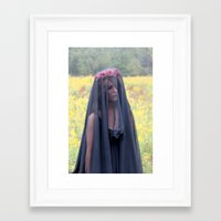 lolita Framed Art Prints featuring Lolita by Kendall Heaphey Photography