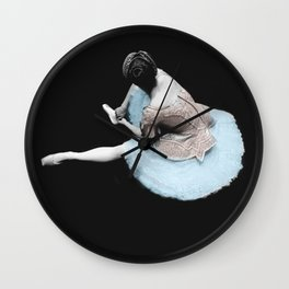 """""""EVERYTHINGS BEAUTIFUL AT THE BALLET"""" Wall Clock"""