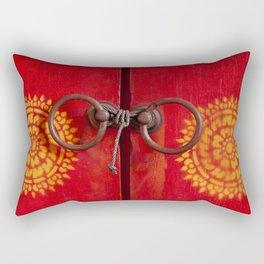 Temple Door Rectangular Pillow