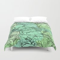 insects Duvet Covers featuring Insects by David Bushell