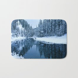 Fields of Winter Bath Mat