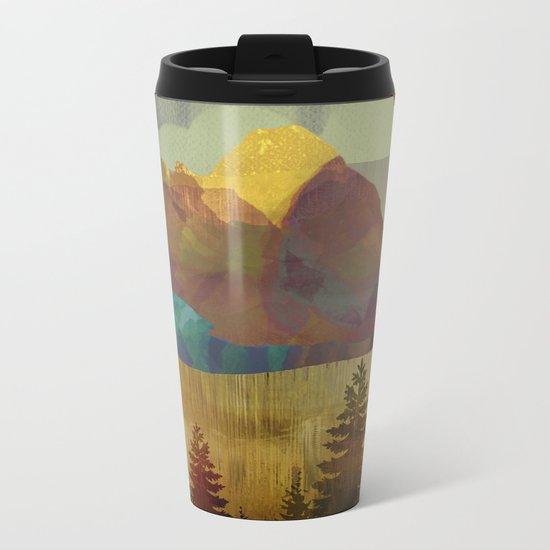 Autumn Sky Metal Travel Mug