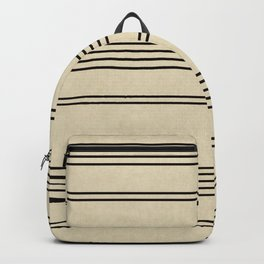 Black and White Stripes Backpack