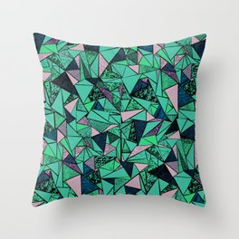 TRIANGLE GEOMETRIC Throw Pillow