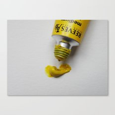Painting Yellow #1 Canvas Print
