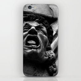 Salisbury Cathedral - Agony Of The Biting Imps iPhone Skin