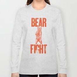 Bear Fight Long Sleeve T-shirt