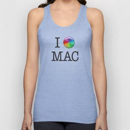 I Love Mac Unisex Tank Top
